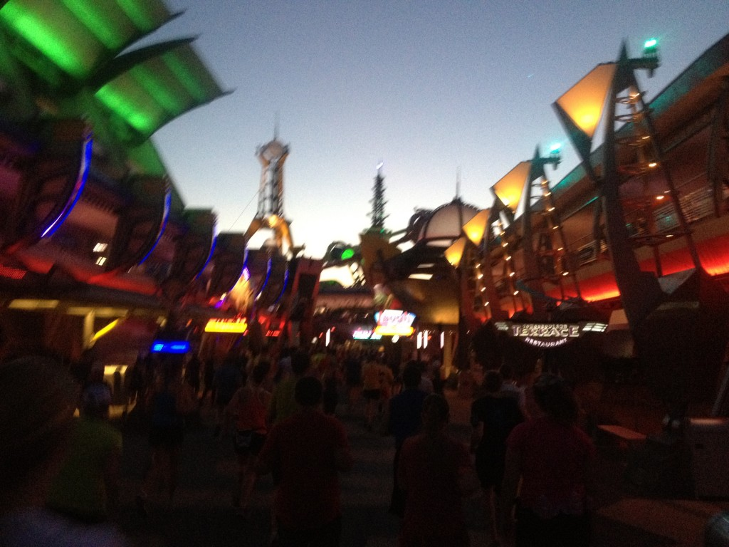 Walt Disney World Half Marathon 2013 tomorrowland