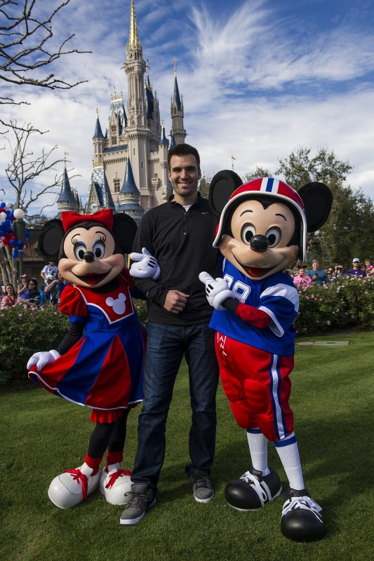 Baltimore Ravens Quarterback Joe Flacco, MVP of Super Bowl XLVII, Honored at Walt Disney World