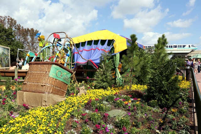 Land of Oz Garden balloon