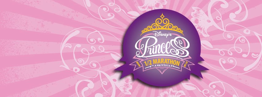 2013 Disney Princess Half Marathon 5th Anniversary Facebook Cover Photo