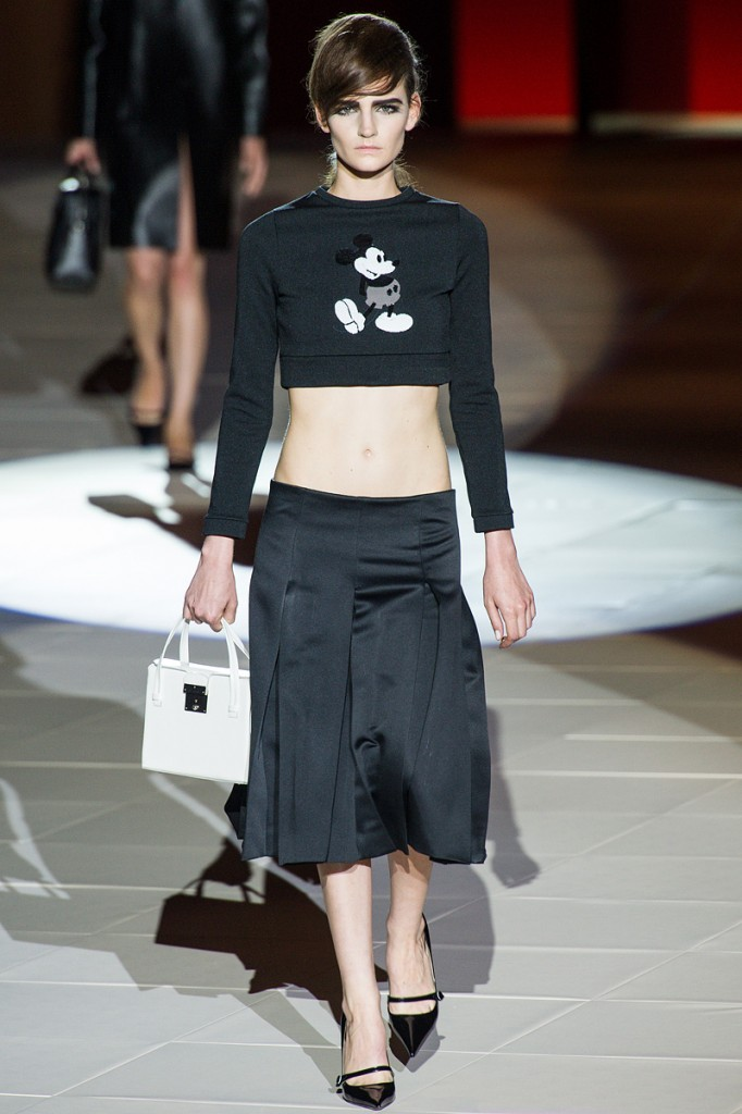 $995 Mickey Mouse Sweatshirt by Marc Jacobs Spring 2013