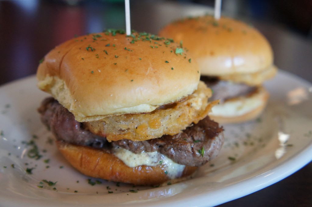 Splitsville Orlando Bowling Alley Downtown Disney Filet Sliders