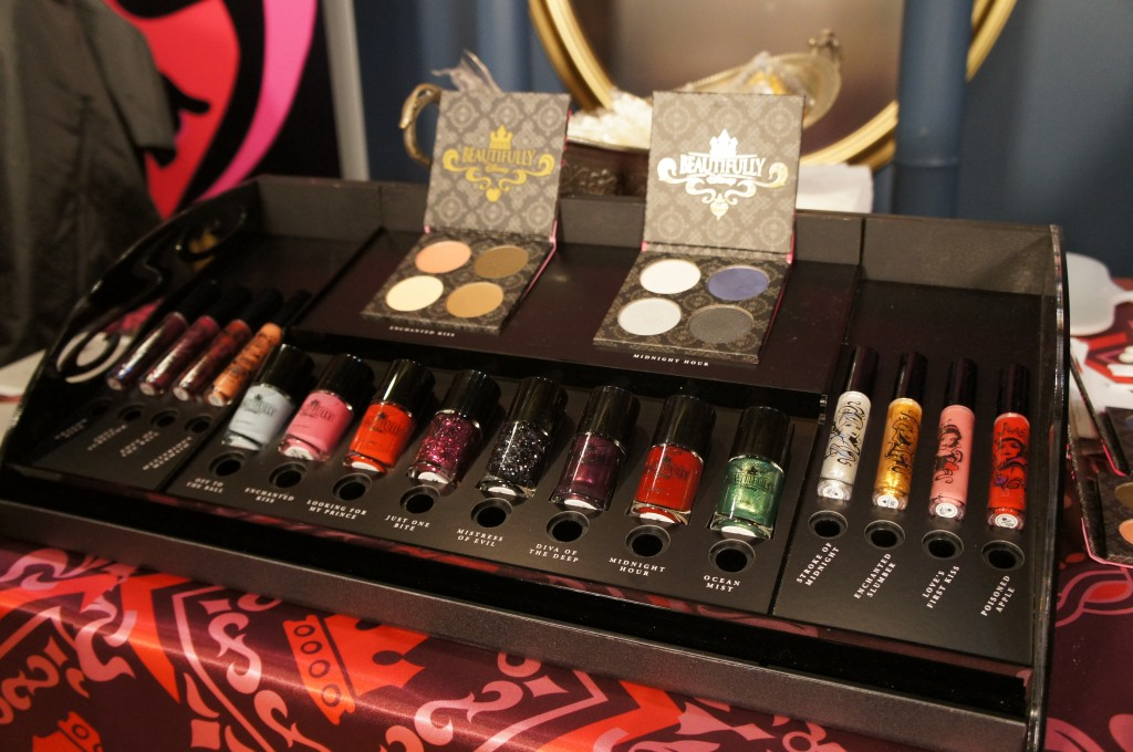 What I Thought of the New Beautifully Disney Cosmetics Line {Pics from the Launch}