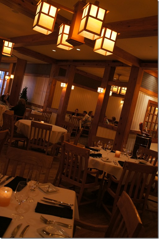 disney yachtsman steakhouse dining room