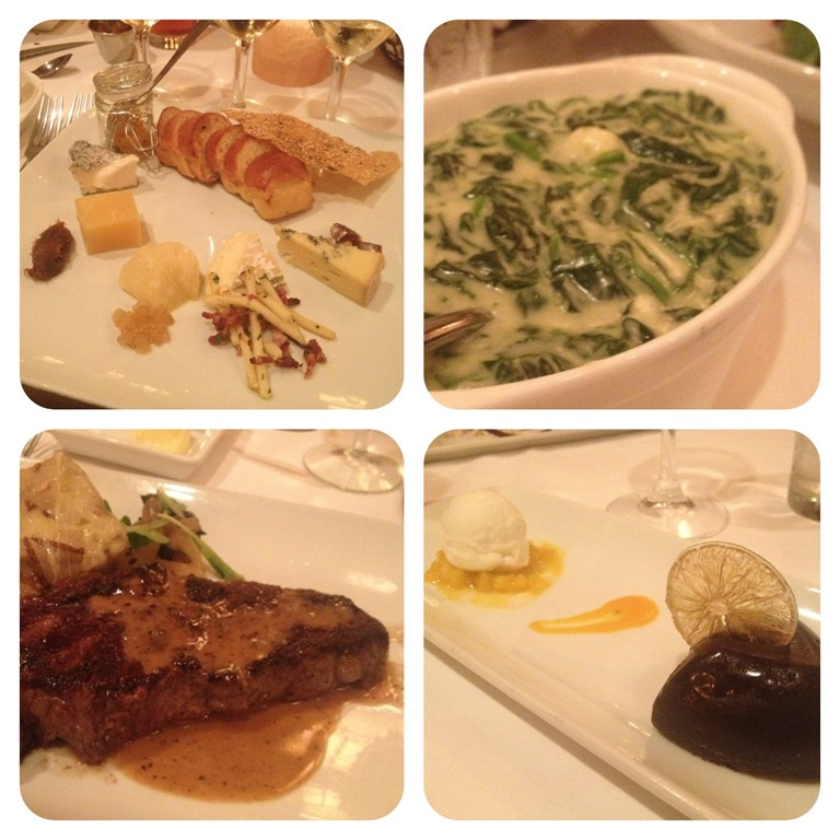 Disney Yachtsman Steakhouse Meal