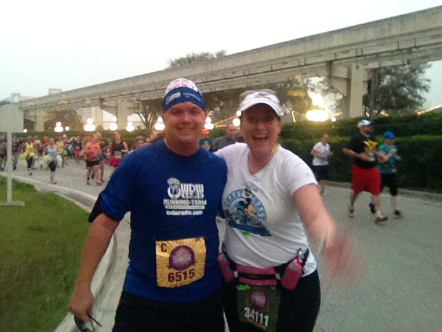 amanda tinney mike beckerman disney princess half marathon