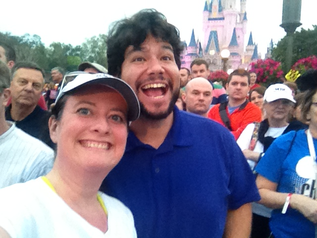amanda tinney jim doyle magic kingdom disney princess half marathon