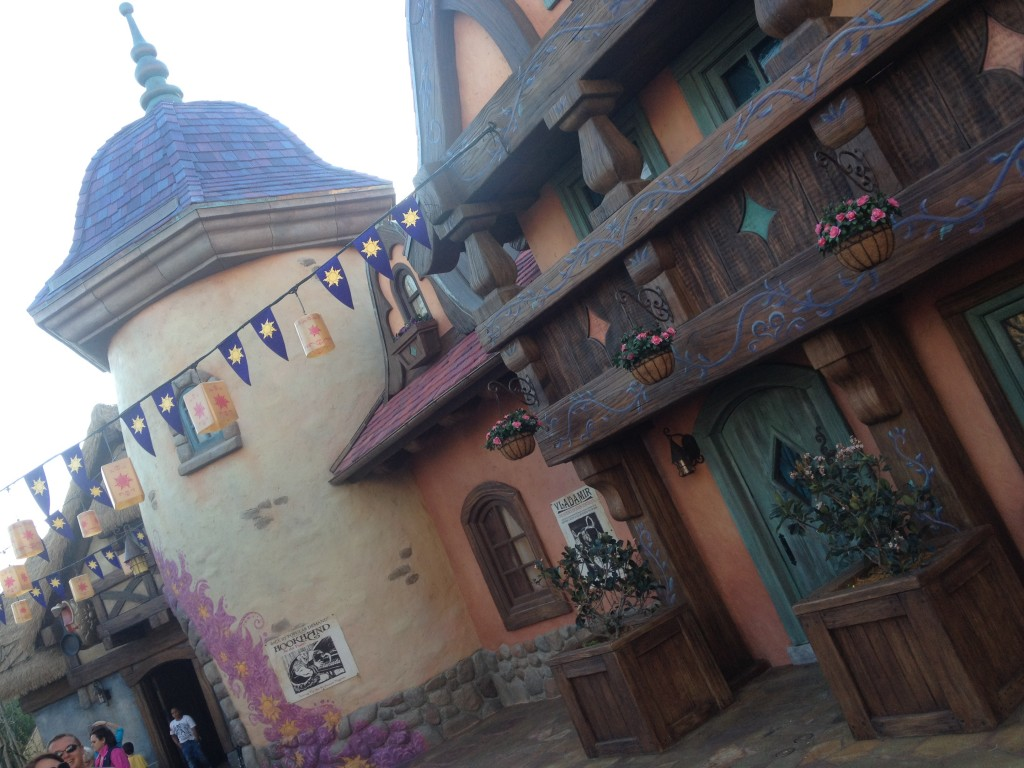 Tangled Bathroom Disney Magic Kingdom New Fantasyland building