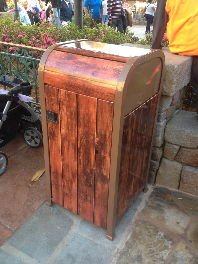 Tangled Bathroom Disney Magic Kingdom New Fantasyland trash can