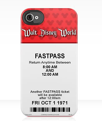 Walt Disney World 'Opening Day' Fastpass iPhone Case