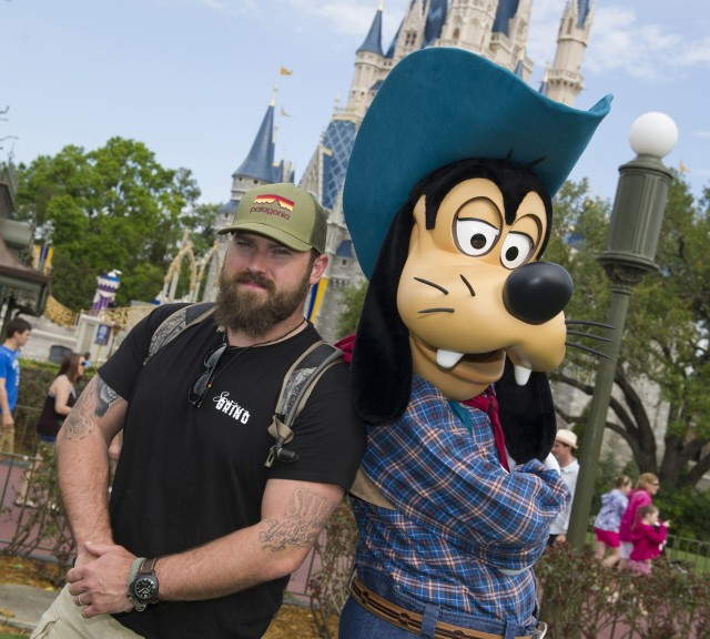 Country Crooner Zac Brown Spotted in the Magic Kingdom