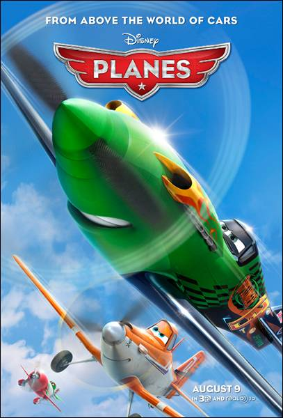 "New Disney ""Planes"" Movie Poster"