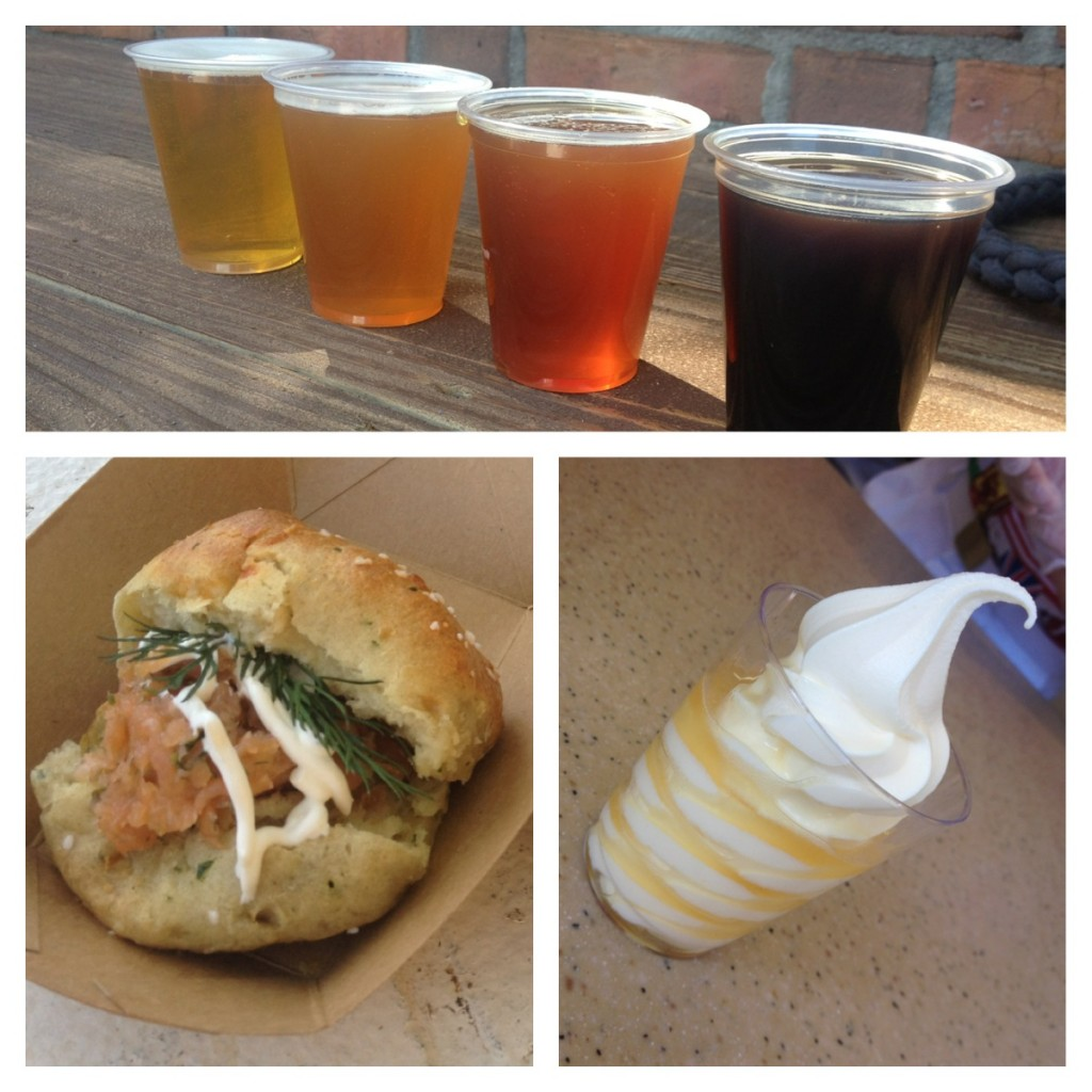 Epcot Flower and Garden Festival Marketplace Eats {a Food Review} and Sushi Pudding
