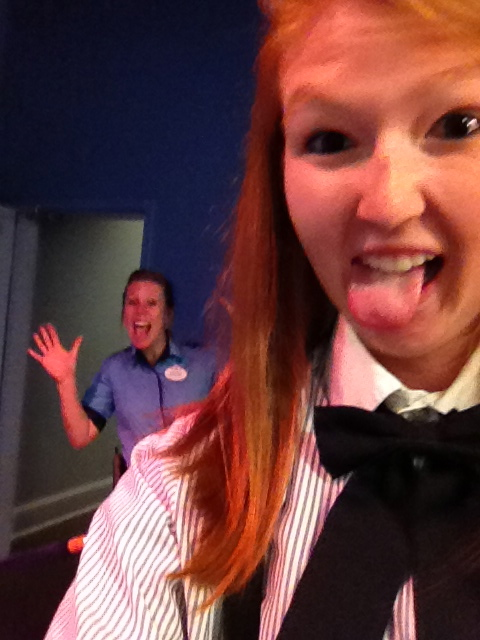Disney Photobomb Friday: Disney Cast Member Gets Photobombed While Photobombing a Guest