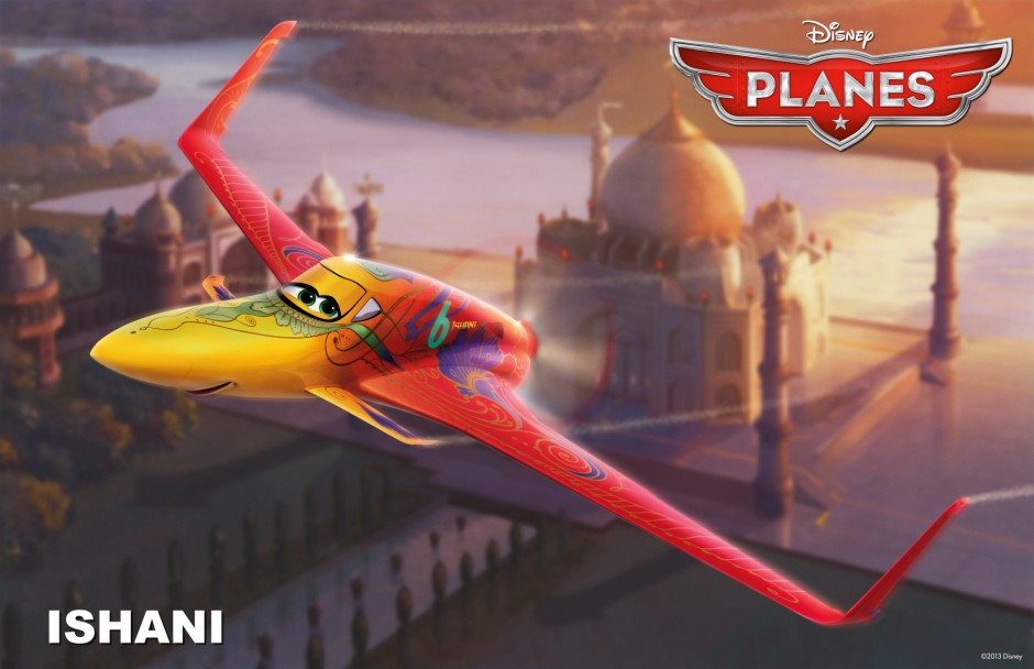 """Meet 16 New Disney Characters from the Upcoming Movie """"PLANES"""""""