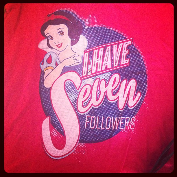 2013 Disney Social Media Moms Celebration snow white swag shirt