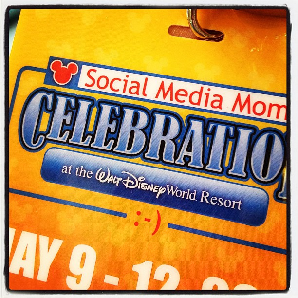 2013 Disney Social Media Moms DisneySMMoms Credential