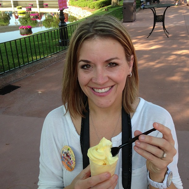 2013 Disney Social Media Moms DisneySMMoms Dole Whip Epcot