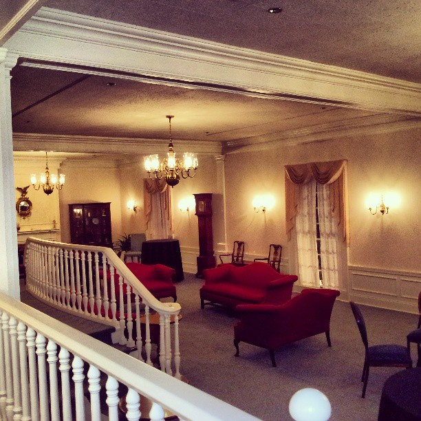 Tour of the Secret Parlor Inside Epcot's American Adventure at Walt Disney World