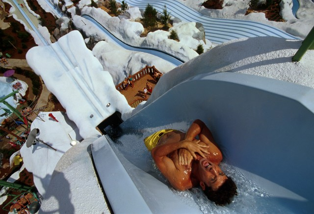 Disney Blizzard Beach Summit Plummet water park slide
