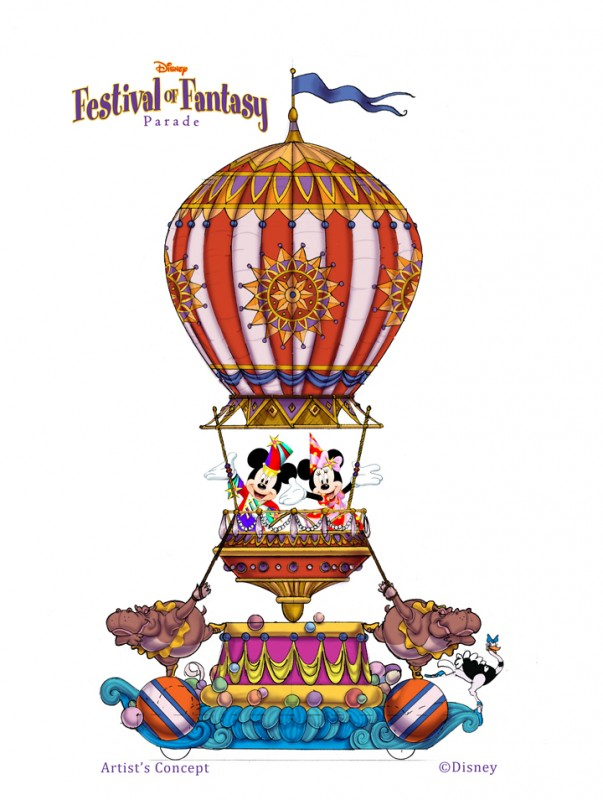 Sneak Peek at the Disney Festival of Fantasy Parade Coming to Magic Kingdom in 2014
