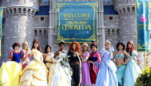 Scenes From Merida S Official Disney Princess Coronation