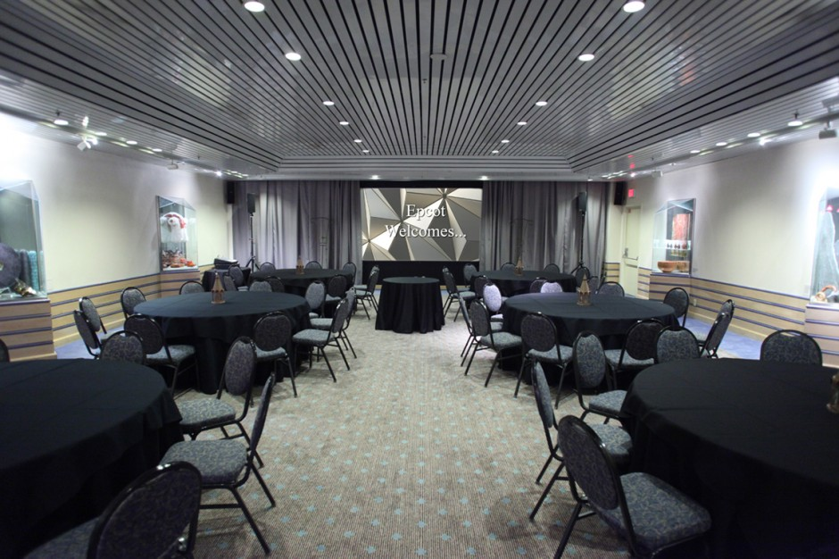 Fijord Room Norway pavilion private lounge disney epcot meeting space