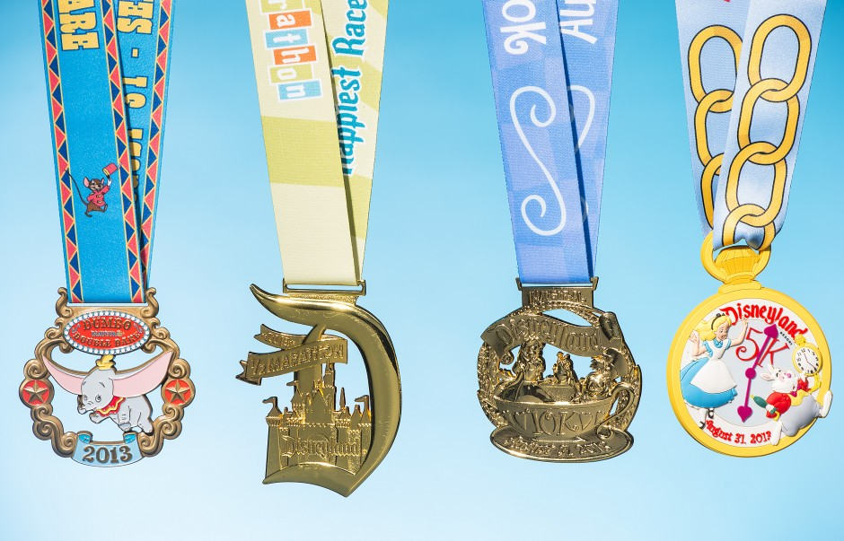runDisney Medals Revealed for the 2013 Dumbo Double Dare, Disneyland Half Marathon, 10K and Family Fun Run 5K