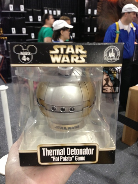 2013 Disney Star Wars Weekend thermal detonator hot potato game