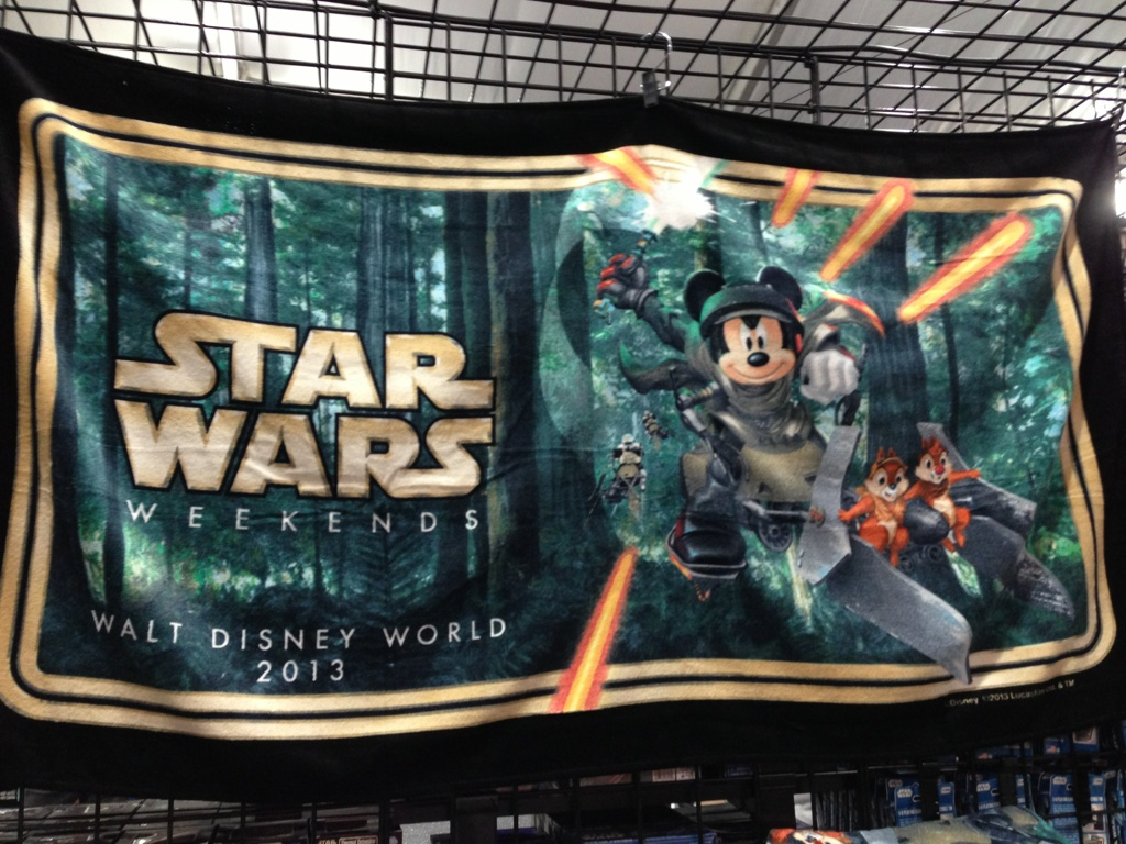 2013 Disney Star Wars Weekends Merchandise Disney Every Day