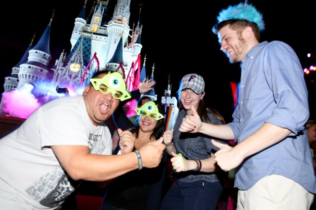 Magic Kingdom Disney All Nighter Late Night Monster Mash Cinderella Castle Dance Party