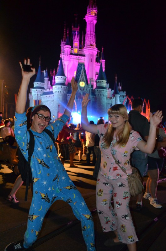 Magic Kingdom Disney All Nighter Late Night Monster Mash Guests Pajamas
