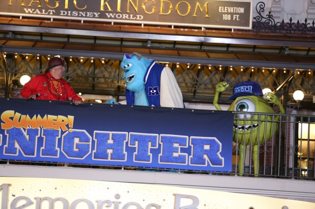 Monsterous Summer Mike Sulley All Nighter Disney Magic Kingdom