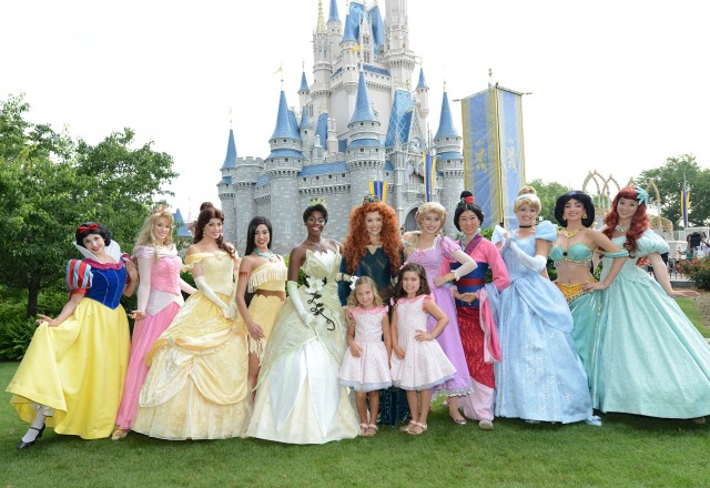 Sophia Rosie Ellen Show Disney Princess Magic Kingdom