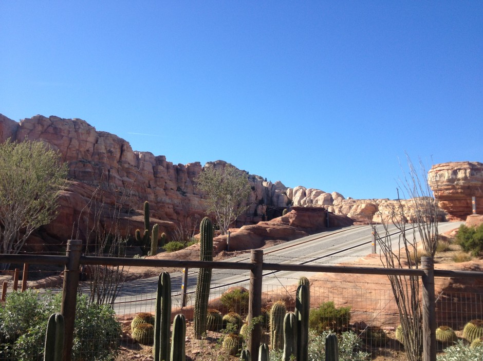 Radiator Springs Racers Disney California Adventure Disneyland