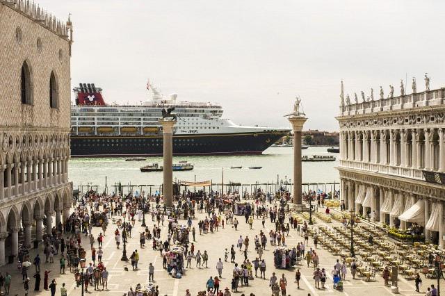 Images of Disney Cruise Line's Magic Ship Returning to Venice, Italy