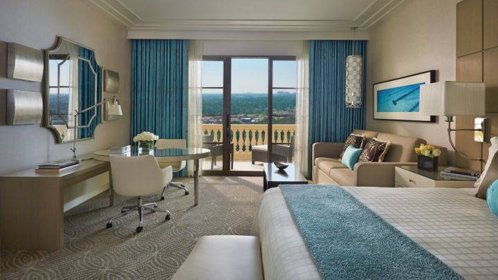 Four Seasons Resort Orlando Walt Disney World King room layout