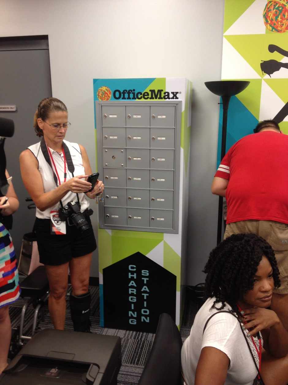 Disney ESPN Wide World of Sports Office max charging station