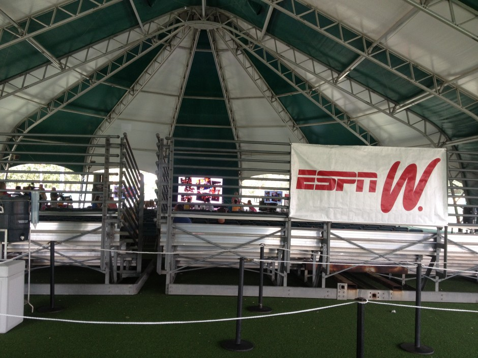 Disney ESPN Wide World of Sports Festival Center Tent