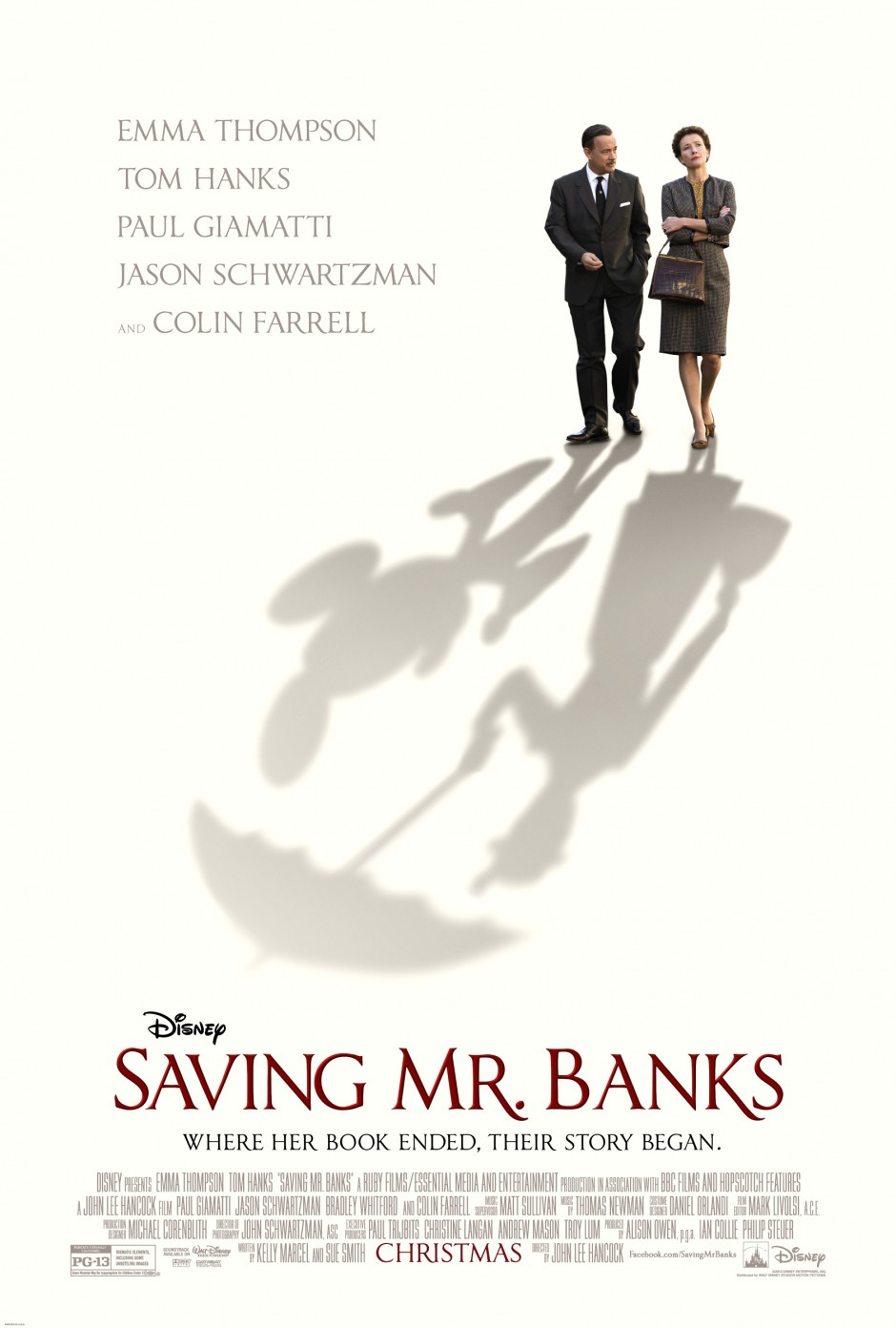 "I'm Loving Disney's New ""Saving Mr. Banks"" Movie Poster"