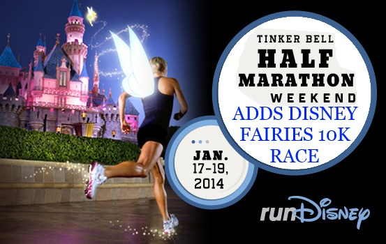 runDisney's Tinker Bell Half Marathon Weekend Gets a Brand New 10K Race