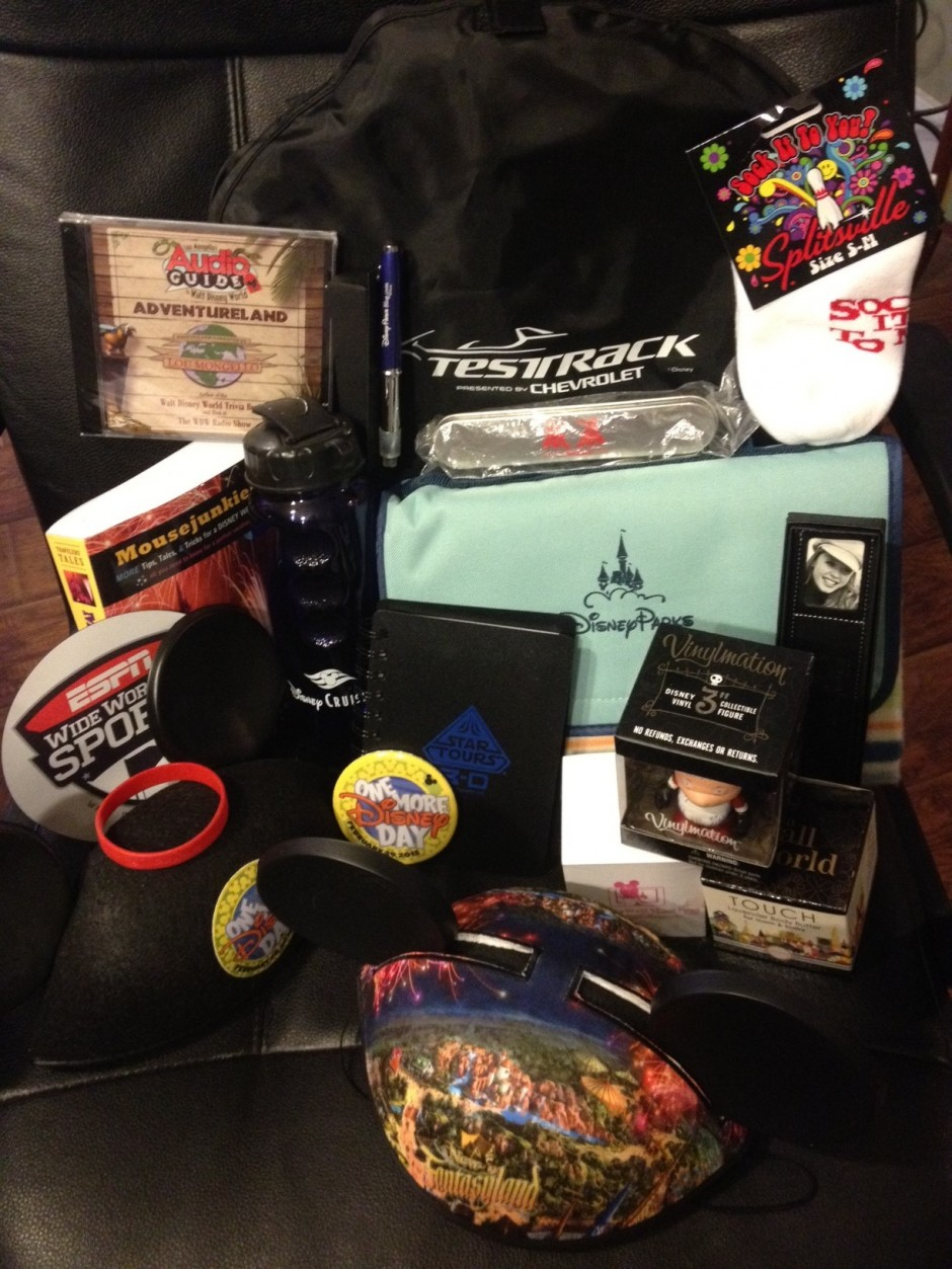 Disney Every Day 4-Year Blogiversary Epic Swag Prize Pack Giveaway