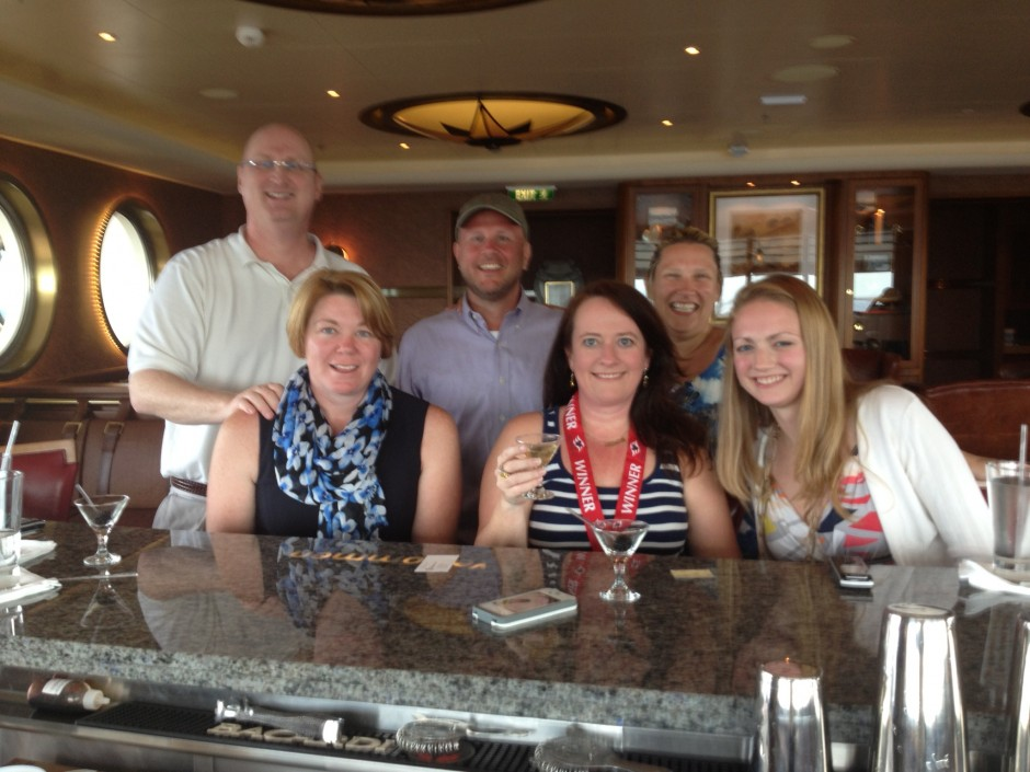 Martini Tasting at Meridian on the Disney DREAM Cruise Ship