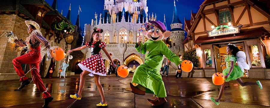 Dates for the 2013 Mickey's Not So Scary Halloween Party in the Magic Kingdom