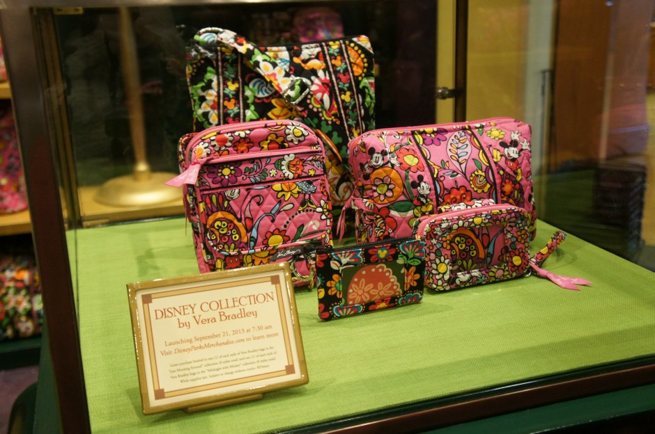 A Close Up Look at the New Inaugural 16 Disney Vera Bradley Bags with Prices