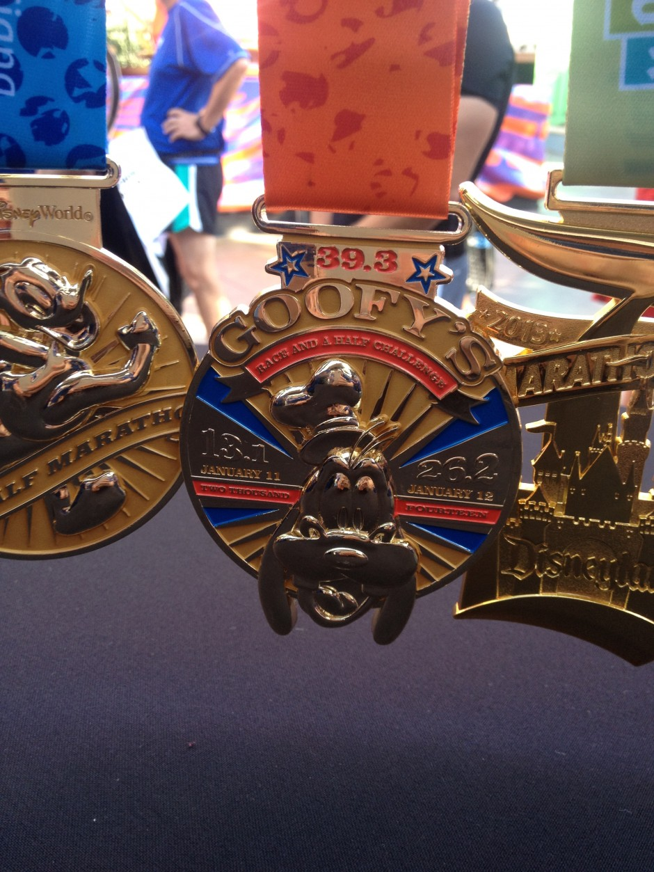 A Closer Look At The New Rundisney Medals For 2013 And