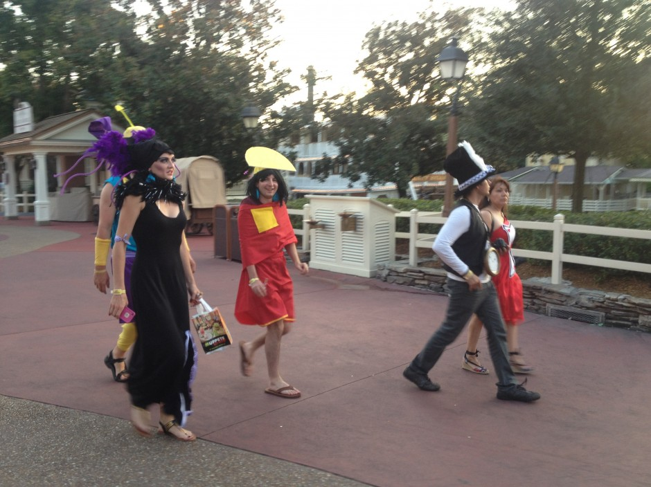 2013 Mickey's not so scary halloween party magic kingdom guests hercules