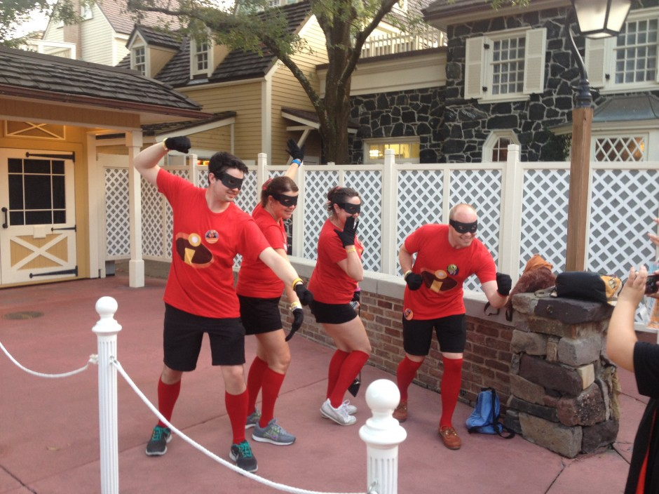2013 Mickey's not so scary halloween party magic kingdom guests the incredibles