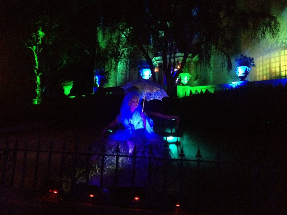 2013 Mickey's Not so scary halloween party magic kingdom haunted mansion madame carlotta