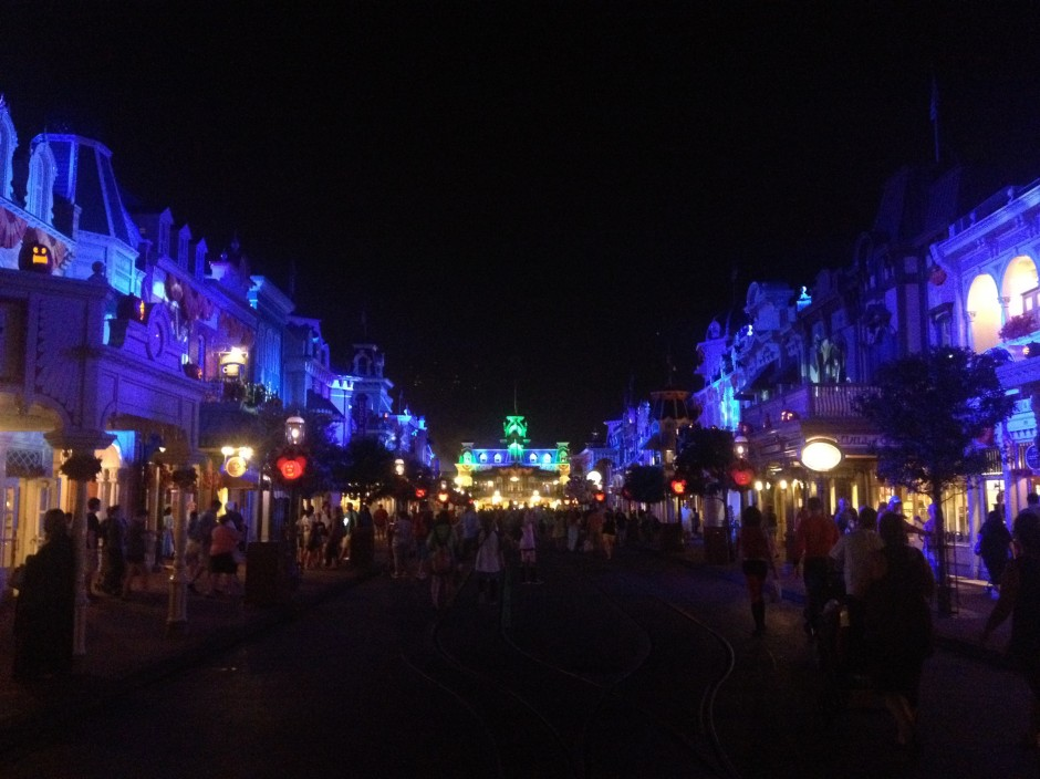 2013 Mickey's not so scary halloween party magic kingdom main street